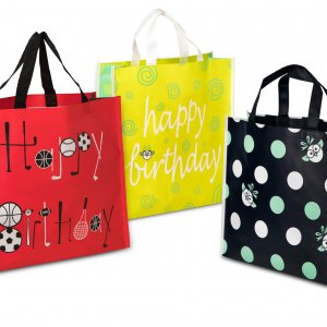 Reusable gift bags from Wisely Wrapped